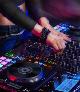 Denon MCX8000 Promo Female DJ